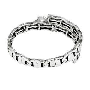 NWT Alex Ani Freedom Wrap Silver Bracelet